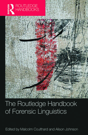 The Routledge Handbook of Forensic Linguistics book cover