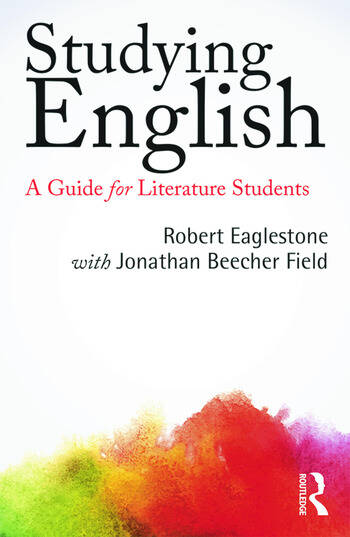 Studying English A Guide for Literature Students book cover