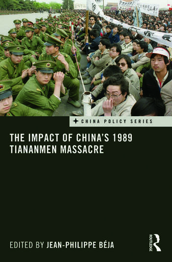 The Impact of China's 1989 Tiananmen Massacre book cover