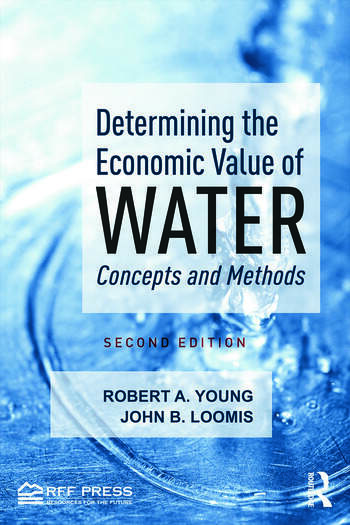 Determining the Economic Value of Water Concepts and Methods book cover