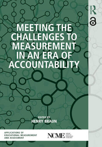 Meeting the Challenges to Measurement in an Era of Accountability book cover