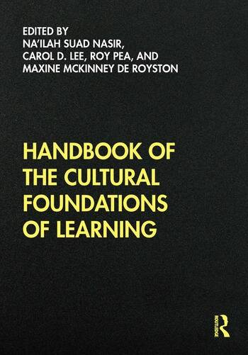 Handbook of the Cultural Foundations of Learning book cover