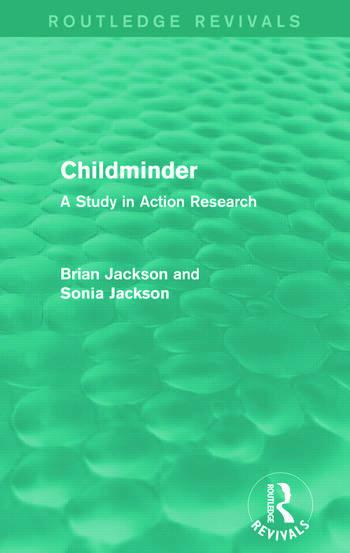 Childminder (Routledge Revivals) book cover