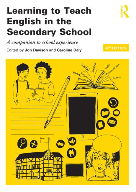 Learning to Teach English in the Secondary School A companion to school experience book cover