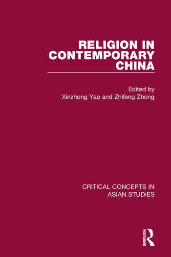 Religion in Contemporary China book cover