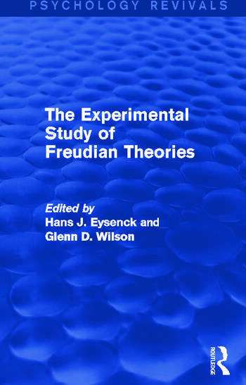 The Experimental Study of Freudian Theories book cover
