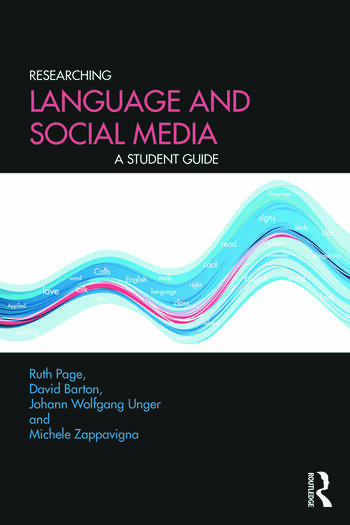 Researching Language and Social Media A Student Guide book cover