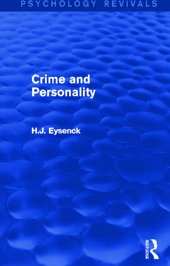 Crime and Personality book cover