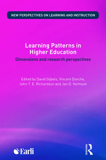 Learning Patterns in Higher Education Dimensions and research perspectives book cover