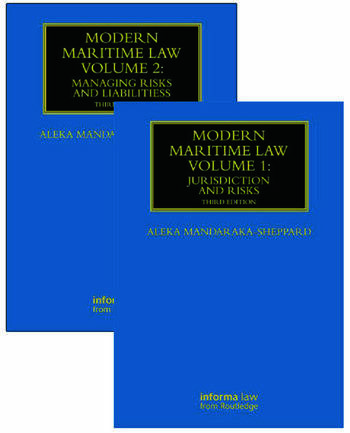 Modern Maritime Law (Volumes 1 and 2) book cover