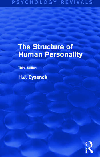 The Structure of Human Personality book cover
