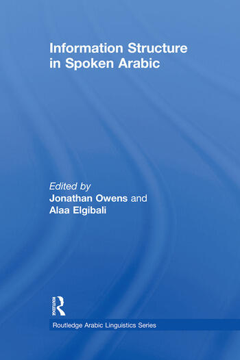 Information Structure in Spoken Arabic book cover