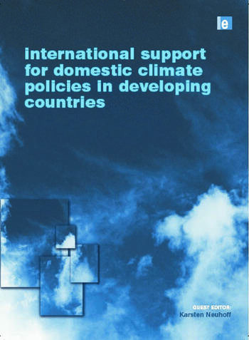 International Support for Domestic Climate Policies in Developing Countries book cover
