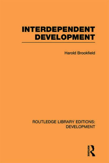 Interdependent Development book cover