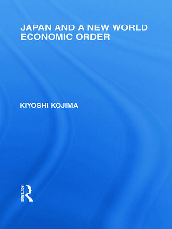 Japan and a New World Economic Order book cover
