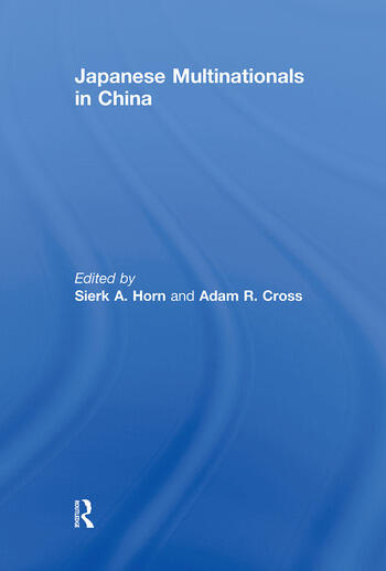 Japanese Multinationals in China book cover