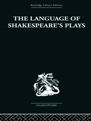 The Language of Shakespeare's Plays book cover