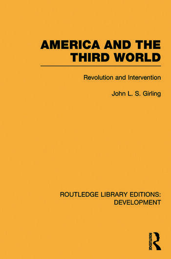 America and the Third World Revolution and Intervention book cover