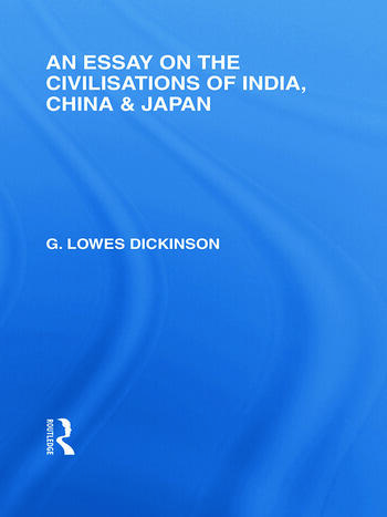 An Essay on the Civilisations of India, China and Japan book cover