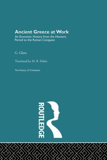 Ancient Greece at Work book cover
