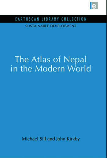 Atlas of Nepal in the Modern World book cover