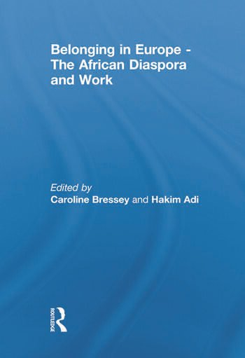 Belonging in Europe - The African Diaspora and Work book cover