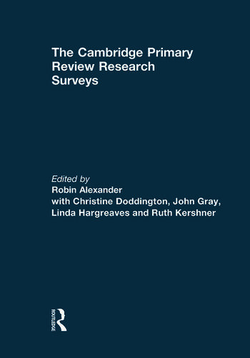 The Cambridge Primary Review Research Surveys book cover