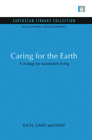 Caring for the Earth A strategy for sustainable living book cover