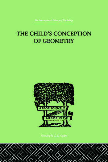 Child's Conception Of Geometry book cover