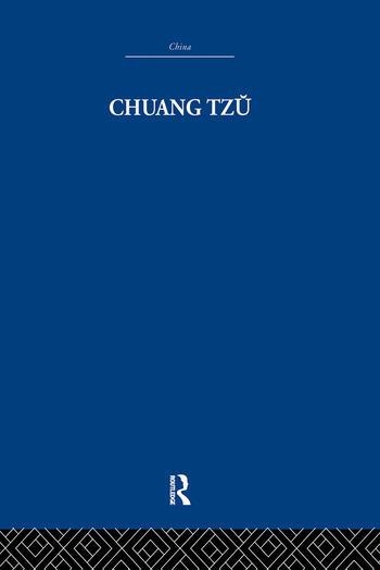 Chuang Tzu book cover