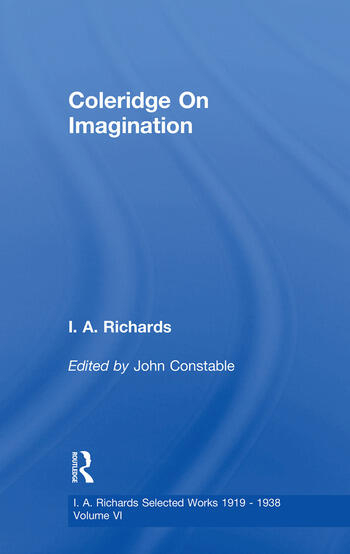Coleridge On Imagination V 6 book cover