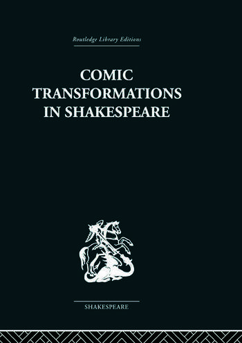 Comic Transformations in Shakespeare book cover