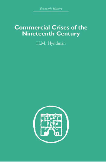 Commercial Crises of the Nineteenth Century book cover