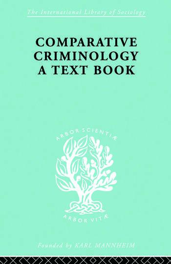 Comparatv Criminol Pt2 Ils 200 book cover