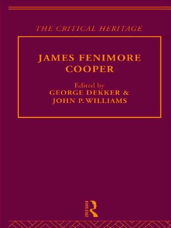 Fenimore Cooper book cover