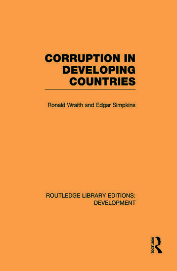 Corruption in Developing Countries book cover