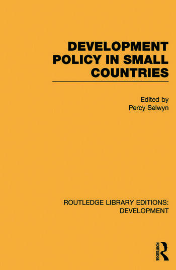 Development Policy in Small Countries book cover
