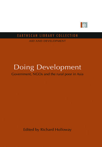 Doing Development Government, NGOs and the rural poor in Asia book cover