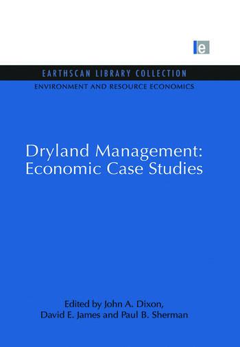 Dryland Management: Economic Case Studies book cover