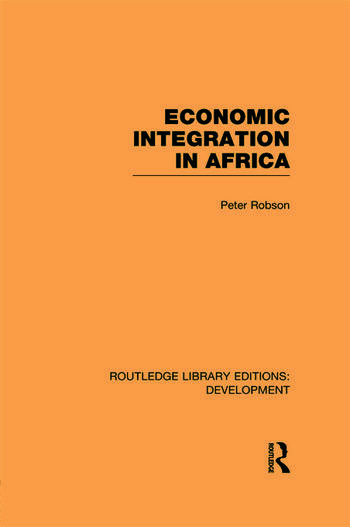 Economic Integration in Africa book cover