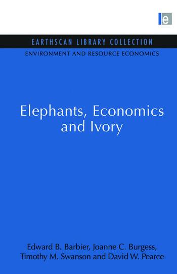 Elephants, Economics and Ivory book cover