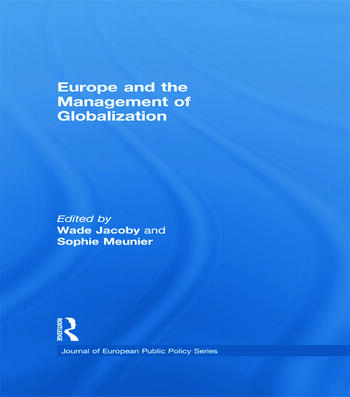 Europe and the Management of Globalization book cover
