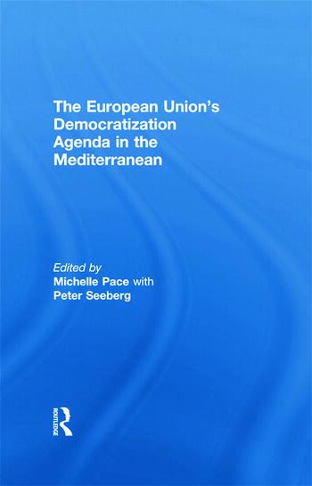 The European Union's Democratization Agenda in the Mediterranean book cover