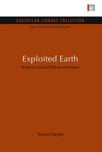 Exploited Earth Britain's aid and the environment book cover