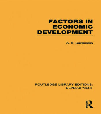 Factors in Economic Development book cover