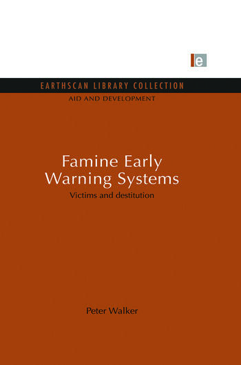Famine Early Warning Systems Victims and destitution book cover