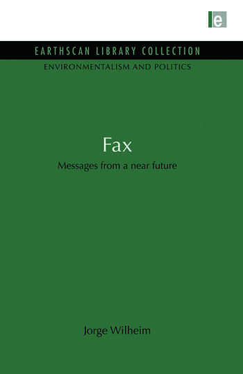 Fax Messages from a near future book cover