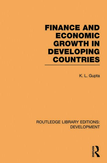 Finance and Economic Growth in Developing Countries book cover