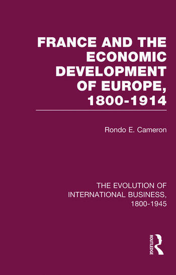 France & Econ Dev Europe V4 book cover