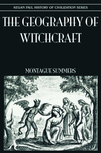 Geography Of Witchcraft book cover